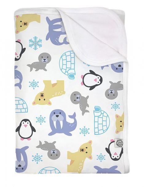 imse vimse organic baby blanket bio babydecke snowland. Black Bedroom Furniture Sets. Home Design Ideas