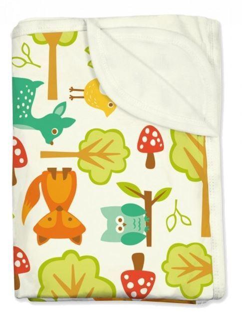 imsevimse organic baby blanket bio babydecke woodland. Black Bedroom Furniture Sets. Home Design Ideas